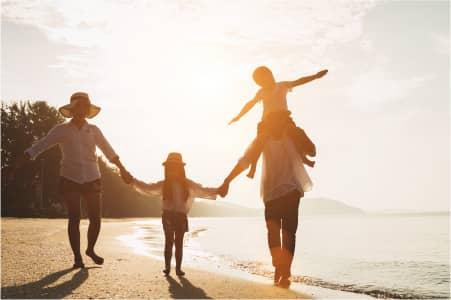 「家族を大切にする企業」を見つけてくれた